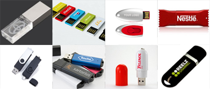 View All Preloaded Custom Flash Drives